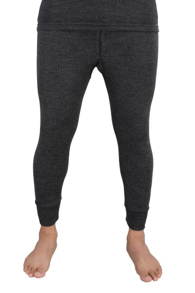 Pure Wool Thermal Bottom- Dark Grey